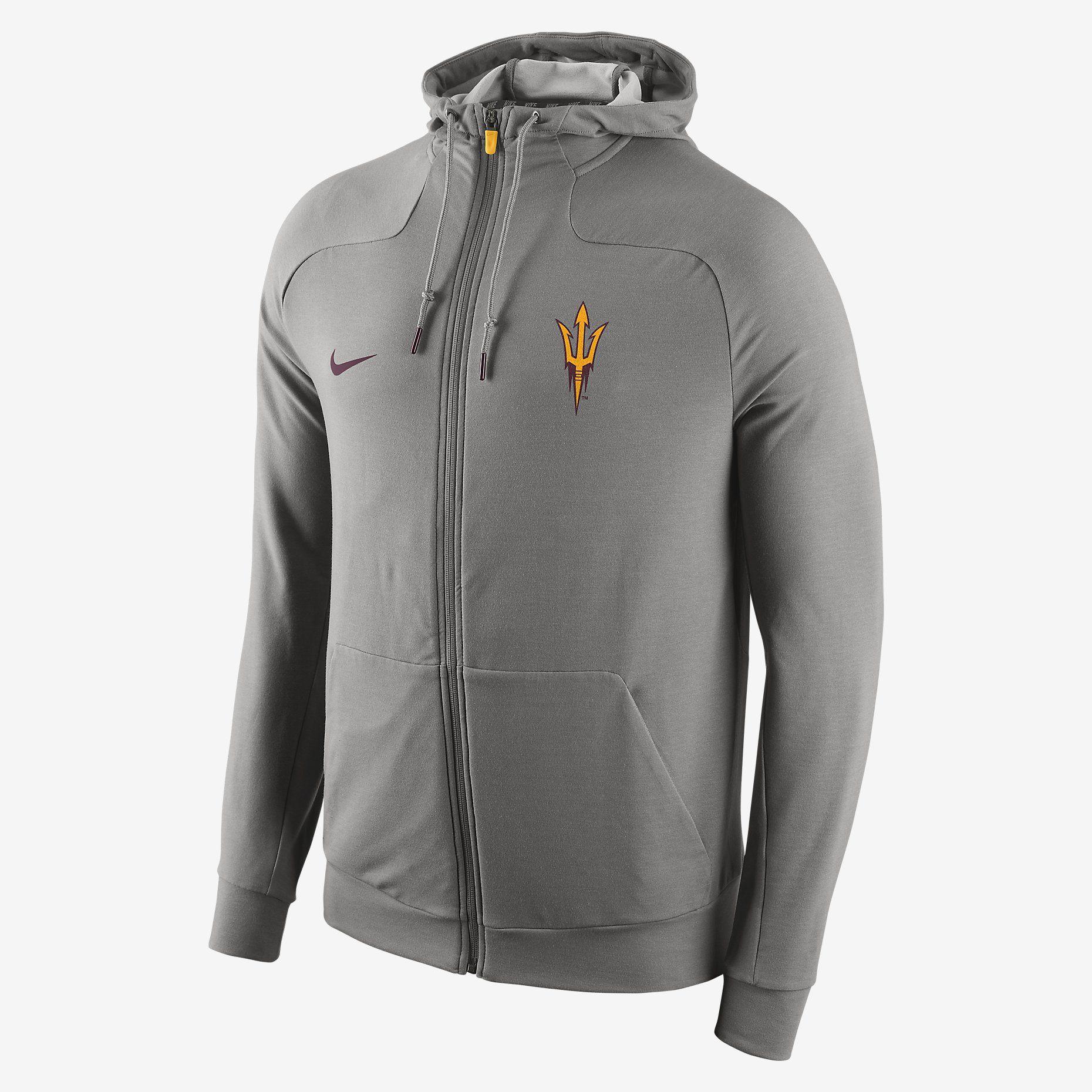 8adcb3f8 Nike Supernatural Full-Zip (Arizona State) Men's Hoodie. Nike Store ...