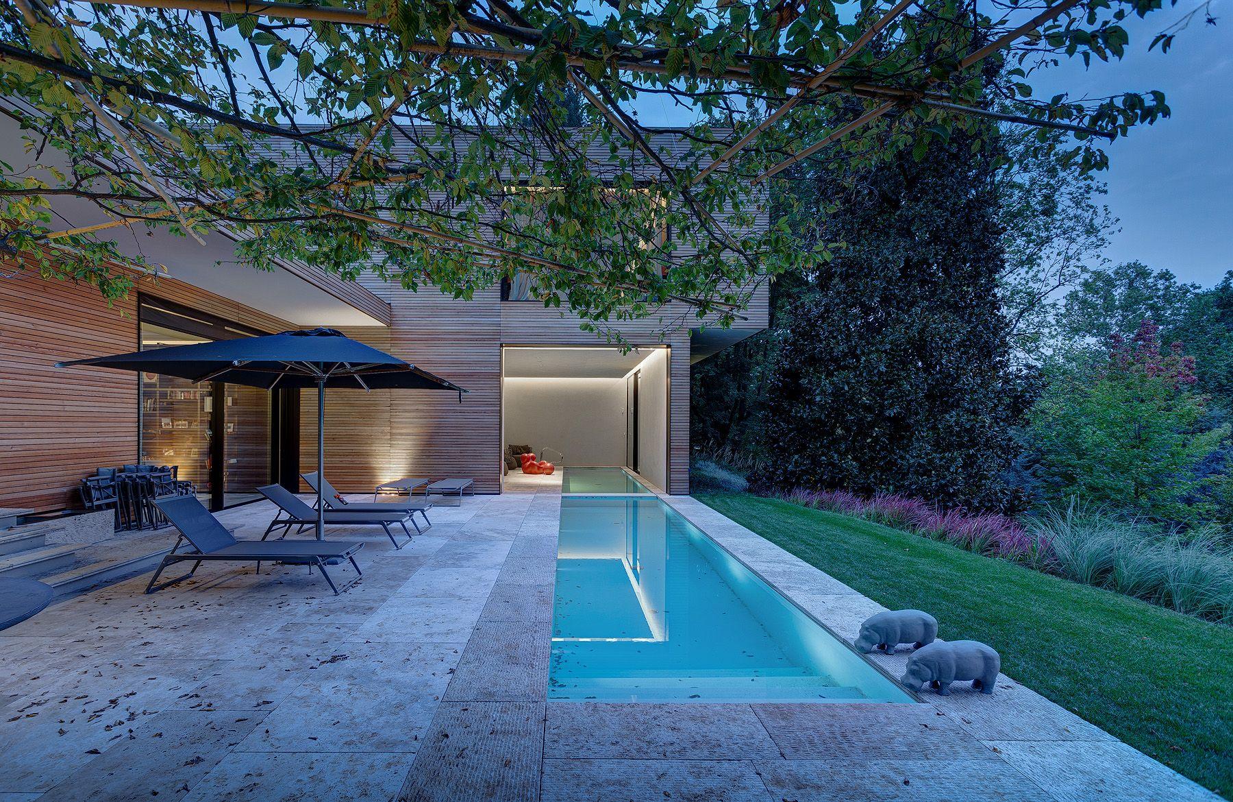 Villa in legno e casa di design casa prefabbricata in for Casa di design online