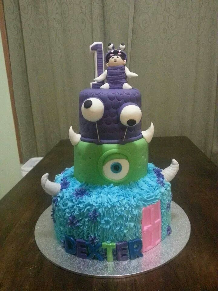 Monsters inc boo cake Baby Shower Cakes Pinterest Cake