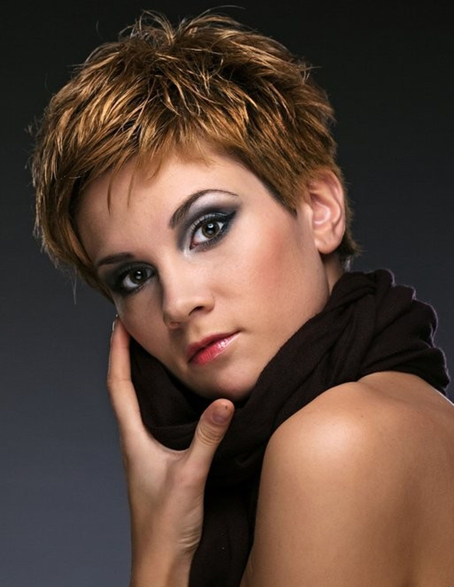 Cute Hair Color of Very Short Hairstyle as Hair Trends Trendy