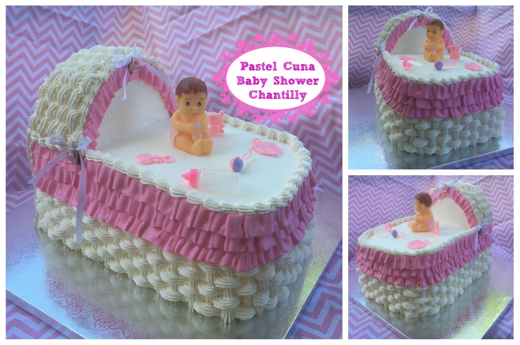 Pastel De Cuna Paso A Paso Para Baby Shower Reposteria