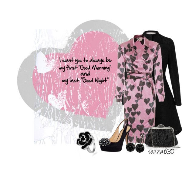 """Good Morning/Good Night"" by tezza630 ❤ liked on Polyvore"