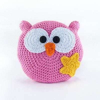 Almohadones Infantiles Tejidos A Crochet Niño Niña Artesanal