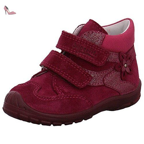 Chaussures Superfit roses fille QXqaWL6