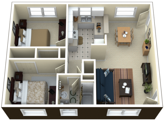 Bed bath apartment in royal bedroom floor plan two apartments also bloxburg house idies pinterest rh
