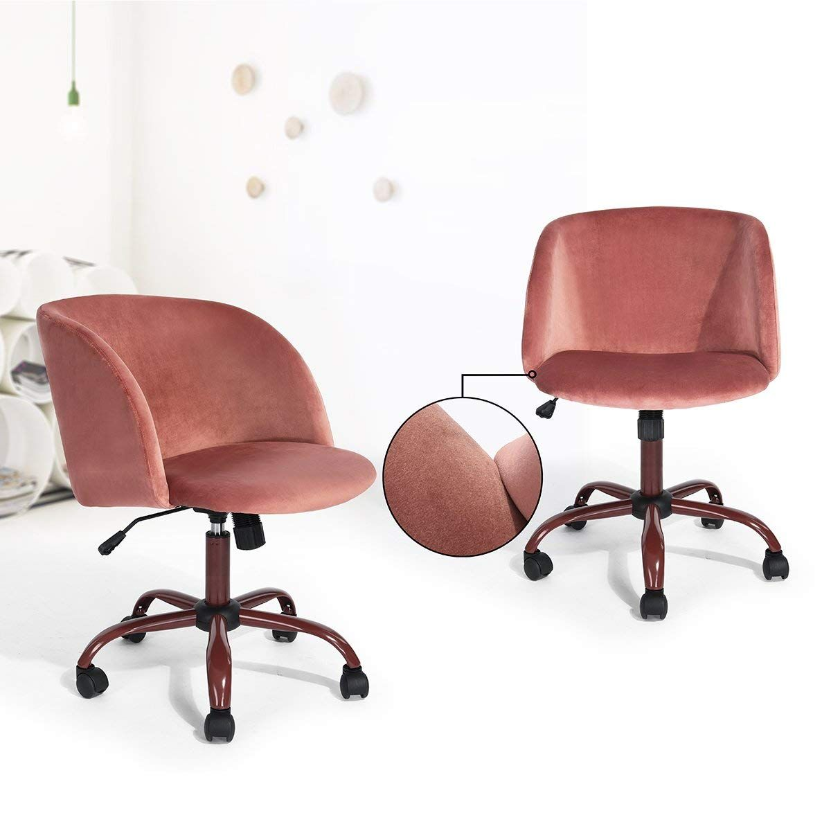 Swivel Computer Desk Chair Ergonomic Modern Accent Cheap Office Chairs Arm Chairs Living Room Rocking Chair Nursery