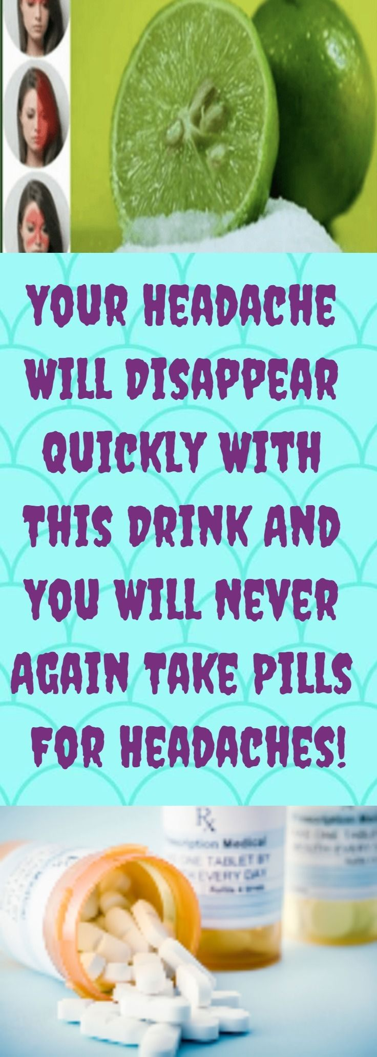 Image result for Your Headache Will Disappear Quickly With This Drink And You Will Never Again Take Pills For Headaches!