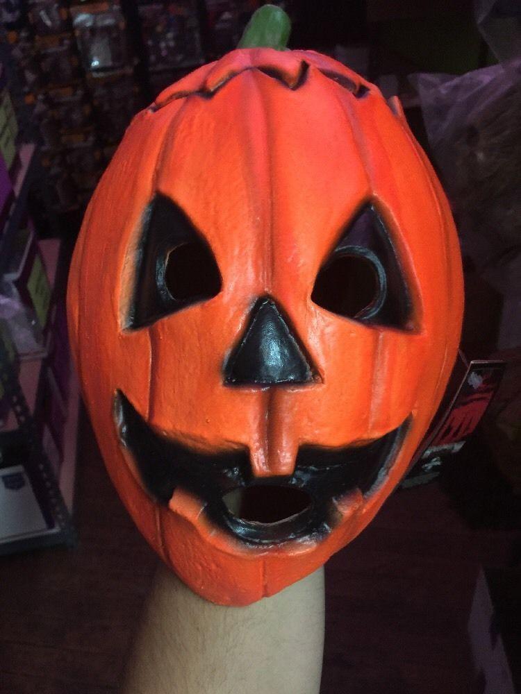 Officially Licensed Pumpkin Halloween 3 Mask Horror H3