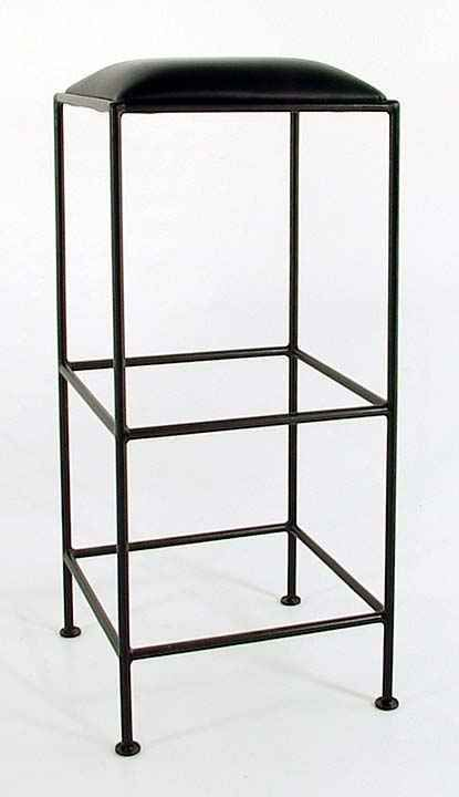 36 Inch Extra Tall Bar Stool Backless Frame Iron Modern Design New Grace
