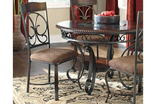 Glambrey Dining Room Chair (Set of 4) by Ashley HomeStore, Brown