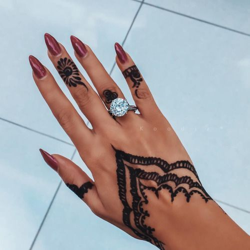 Brown Henna Tattoo: Pin By Chloe Brown On Tattoo In 2020 (With Images)