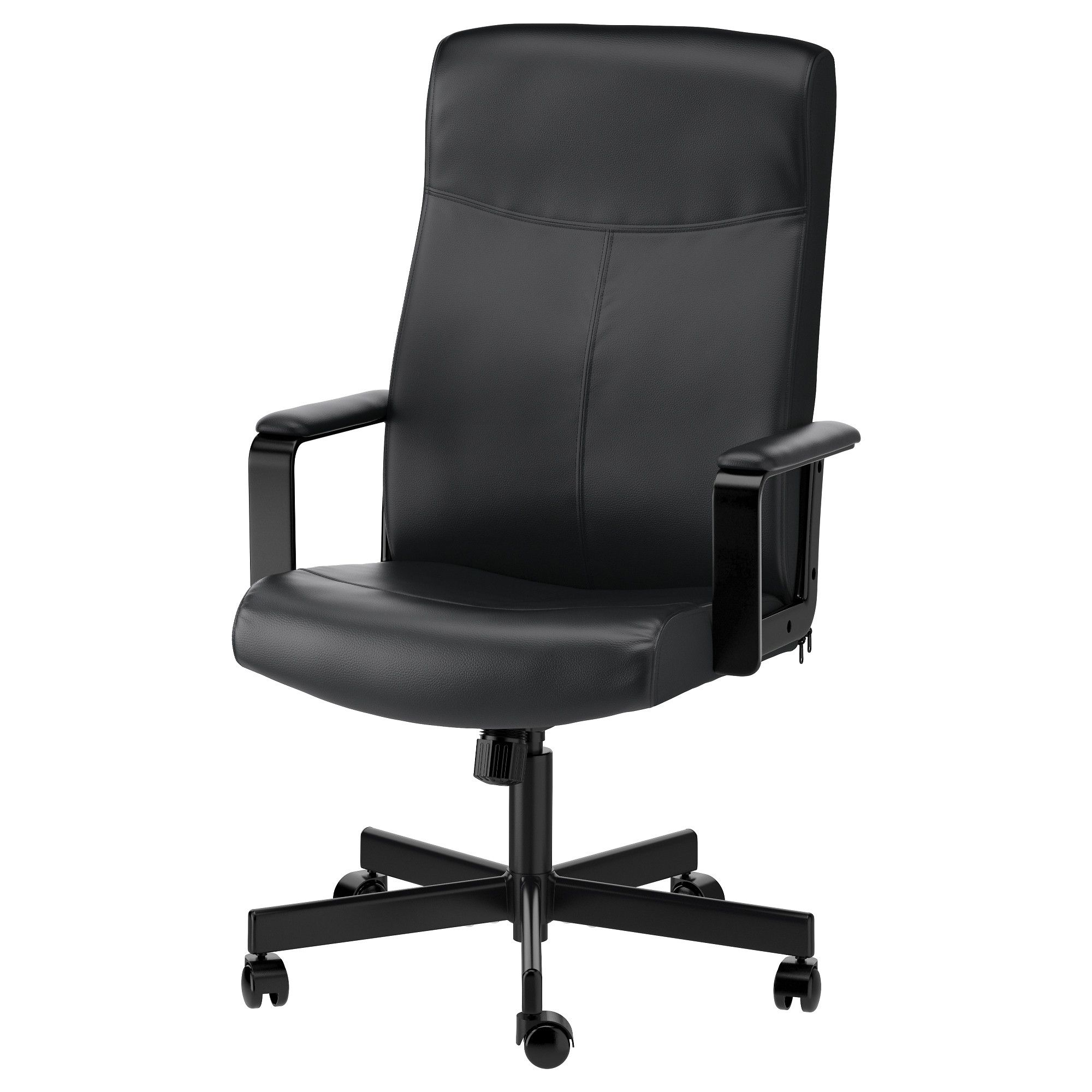 IKEA MILLBERGET Swivel chair Bomstad black Ikea desk