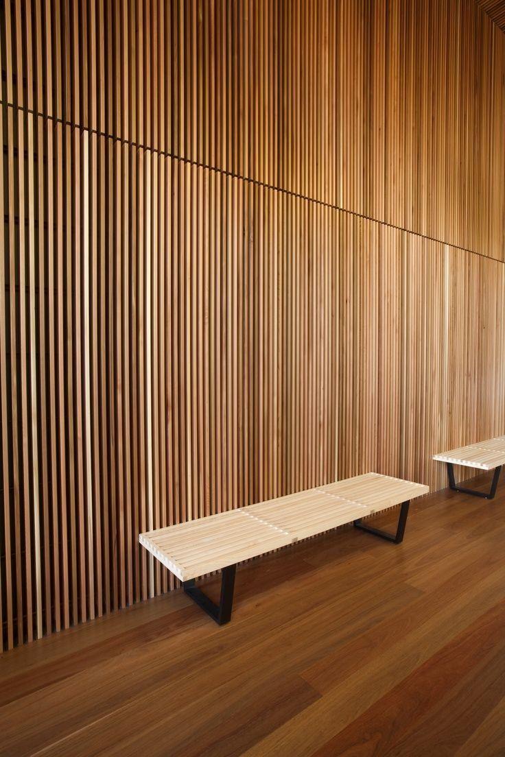 Image Result For Cedar Veneer Walls Wood Slat Wall Wall Cladding Wood Feature Wall