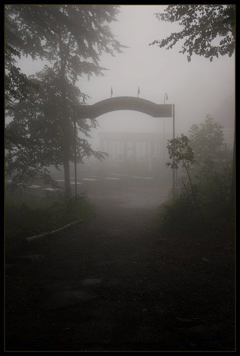 Creepy Silent Hill Silent Hill Town Dark Pictures