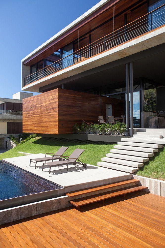 Gallery of house in cacupe pimont arquitetura interdesign architecture design also rh pinterest
