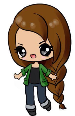 OMG! I found a kawaii chibi maker online! :o I made this Katniss ...