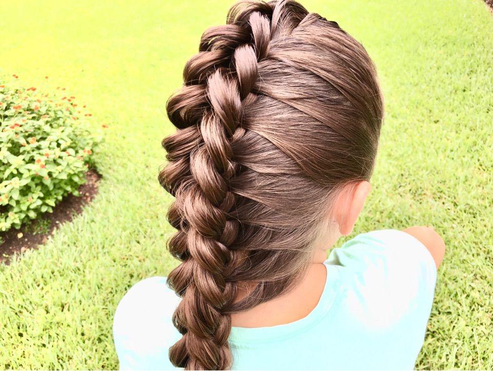 Dragon Braid Hair Styles Hair Stiles Hair