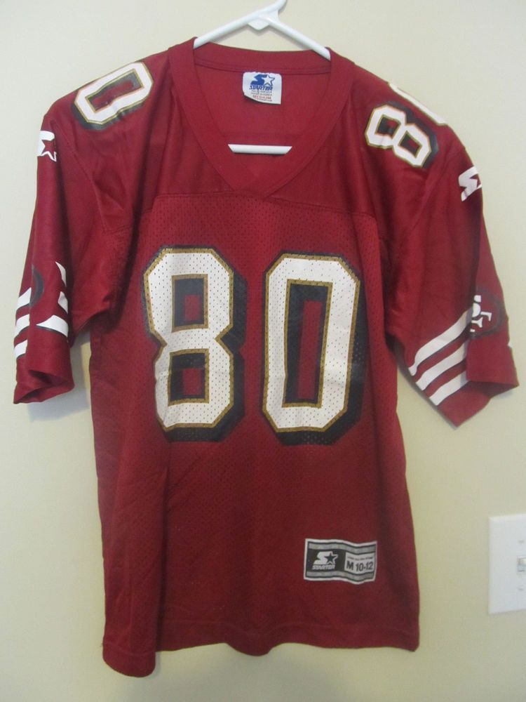 various colors 7f986 43618 Jerry Rice - San Francisco 49ers jersey - Starter youth ...