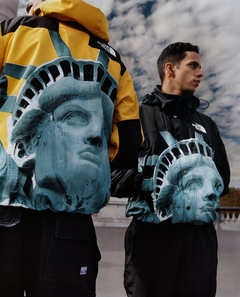 Supreme X The North Face Statue Of Liberty Collection North Face Mountain Jacket The North Face North Face Jacket