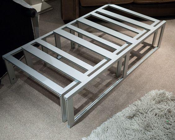 aluminium bed camper