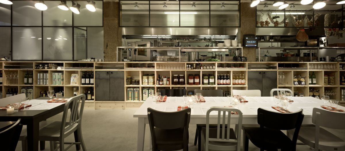 Restaurant Kitchen View mazzo rack and kitchen divider | f&b design | pinterest | cabinet