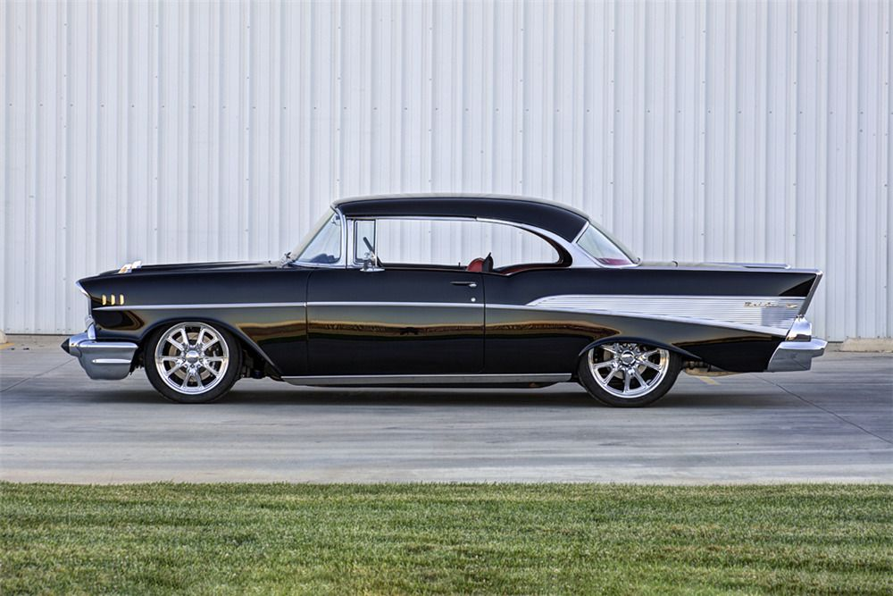 1957 Chevrolet Bel Air Custom Hardtop Side Profile 226298
