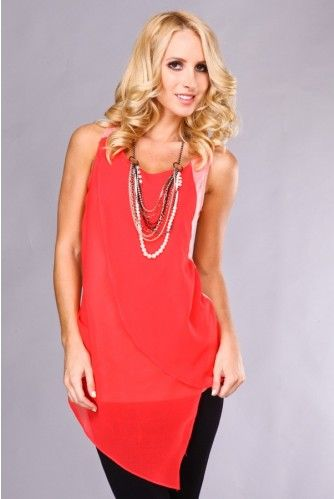 I want to pair this asymmetrical top with a blazer and skinny jeans.