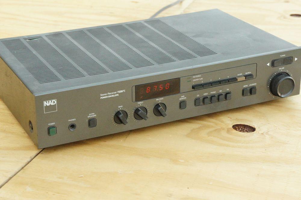 NAD 7220PE 2 Channel 25 Watt Receiver TESTED | Electronics
