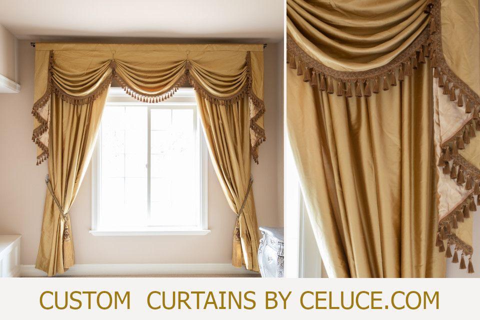 Custom Valance Curtains By Celuce Com Custom Curtains Curtains