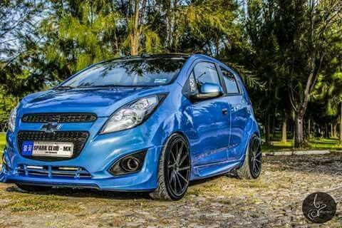 Spark Blue Coches Personalizados Autos Carros Y Motos