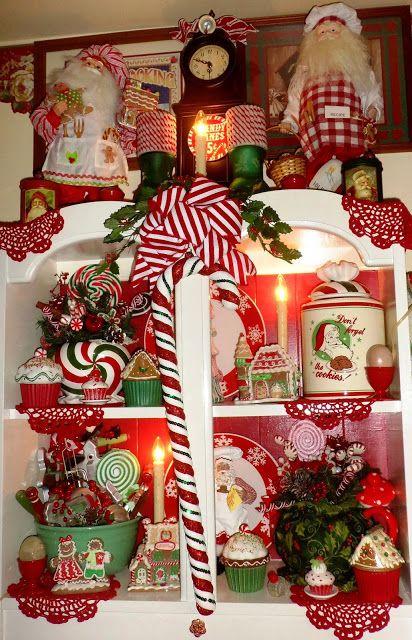 Un DEBBIE-incursionar NAVIDAD: La Navidad en la habitación en polvo, Navidad Home Tour 2015