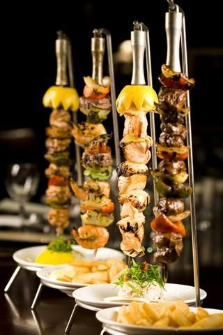 Meat Amp Wine Co S Flame Grilled Skewers In 2020 Food Presentation Charcuterie Recipes Food