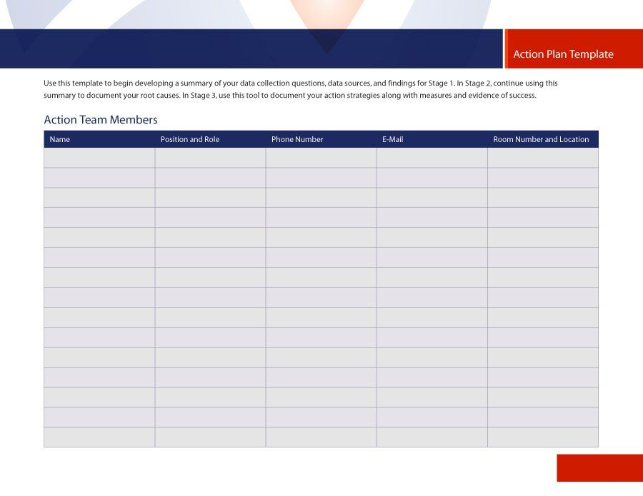 45 Free Action Plan Templates (Corrective, Emergency, Business - action plan template word