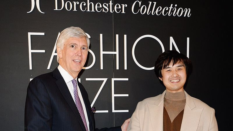 Fashion Prize  Established in 2010, the annual Dorchester Collection Fashion Prize was created to discover emerging fashion talent and build on Dorchester Collection's own established fashion heritage. It is the first award of its kind developed by a luxury hotel company. Huishan Zhang is the winner of the 2013 Dorchester Collection Fashion Prize.