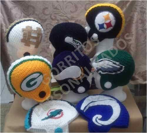 cascos de la nfl y gorros de soccer tejidos a mano  91893ca297e