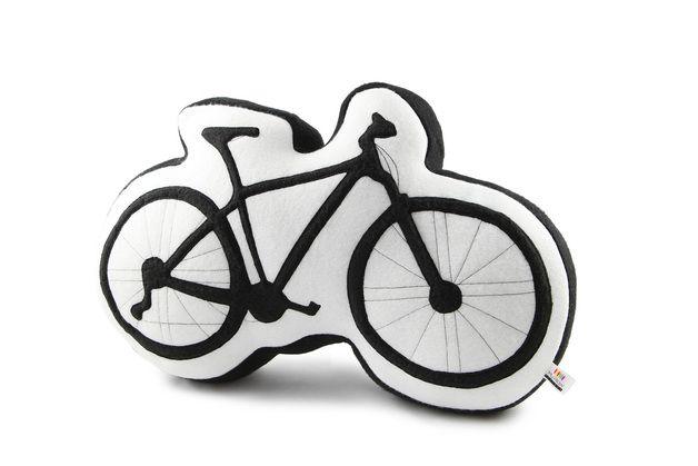 ein kissen f r alle fahrradfahrer die auf ihre zwei r der nicht verzichten k nnen und. Black Bedroom Furniture Sets. Home Design Ideas