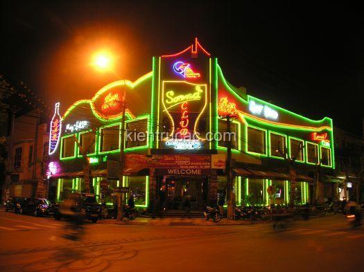 THIẾT KẾ CAFE CORNER - ĐIỆN BIÊN PHỦ - HẢI PHÒNG