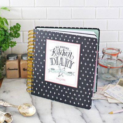 Lily & Val – The Keepsake Kitchen Diary - Heirloom Recipe Book