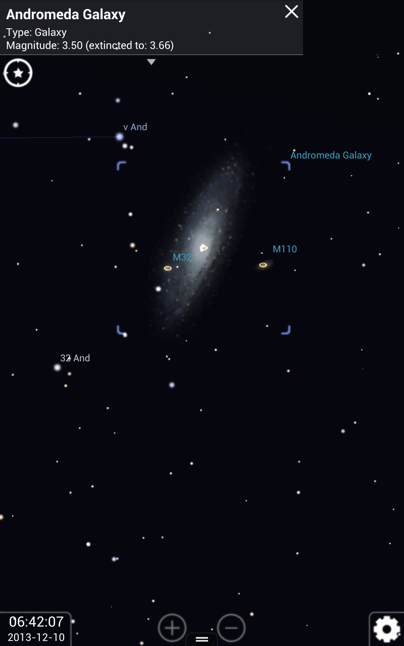 Amazon Com Stellarium Mobile Sky Map Appstore For Android