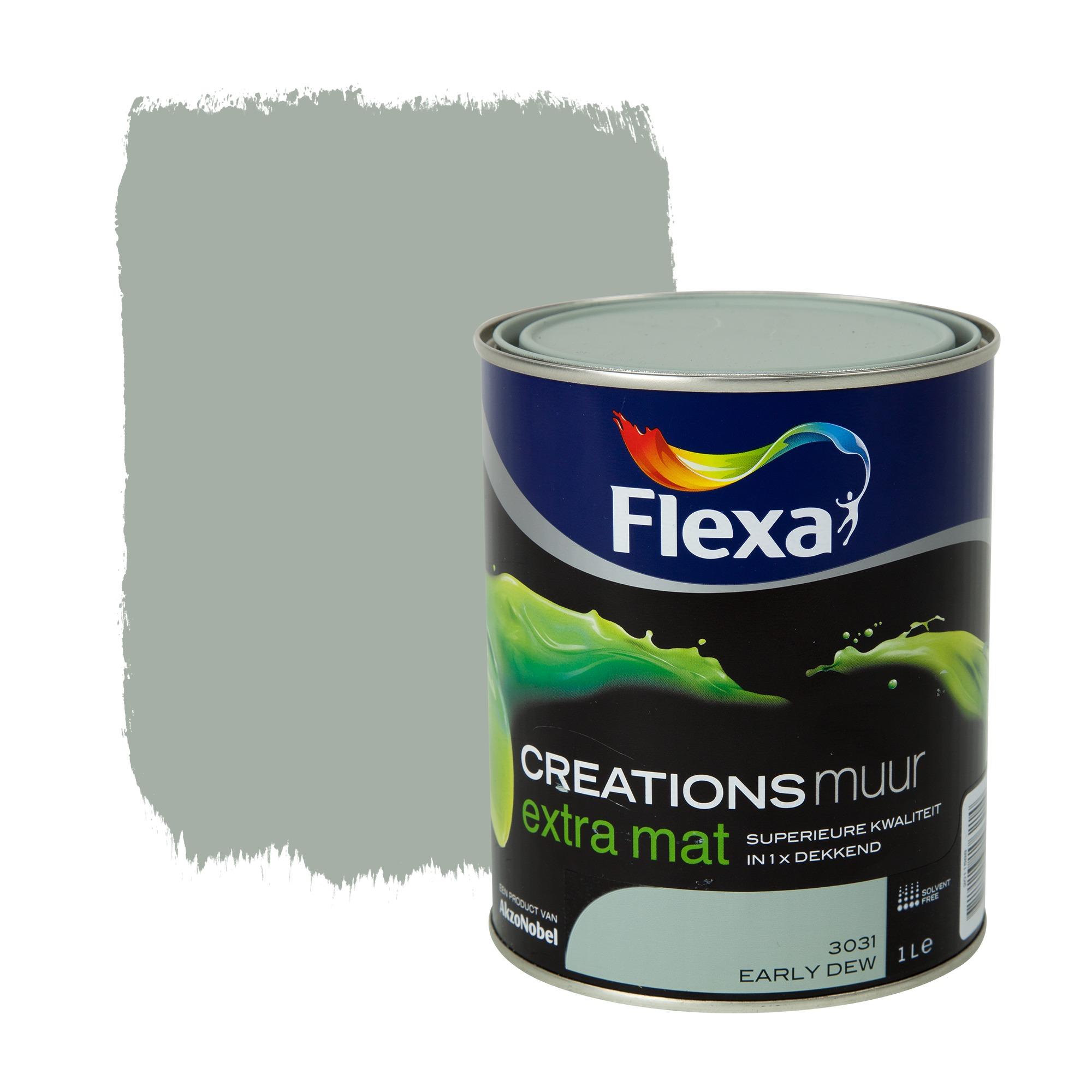 flexa early dew kopen : Flexa Creations Muurverf Early Dew Extra Mat 1 Liter Inrichting