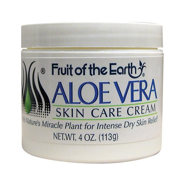 Fruit Of The Earth Aloe Vera Skin Care Cream 4 Oz Cream Swanson Health Products Aloe Vera Skin Care Skin Care Cream Skin Care