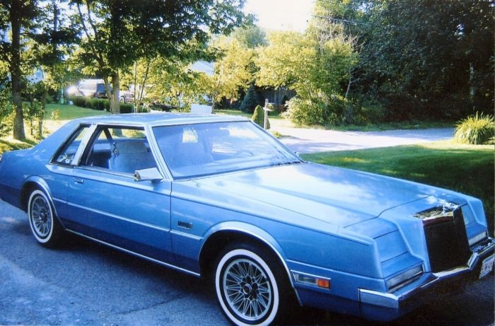 1981 Chrysler Imperial Frank Sinatra Edition Chrysler Imperial