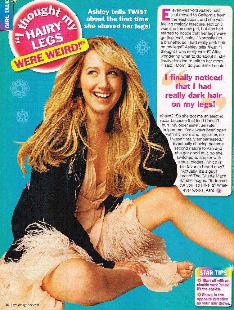 girl magazine Hairy