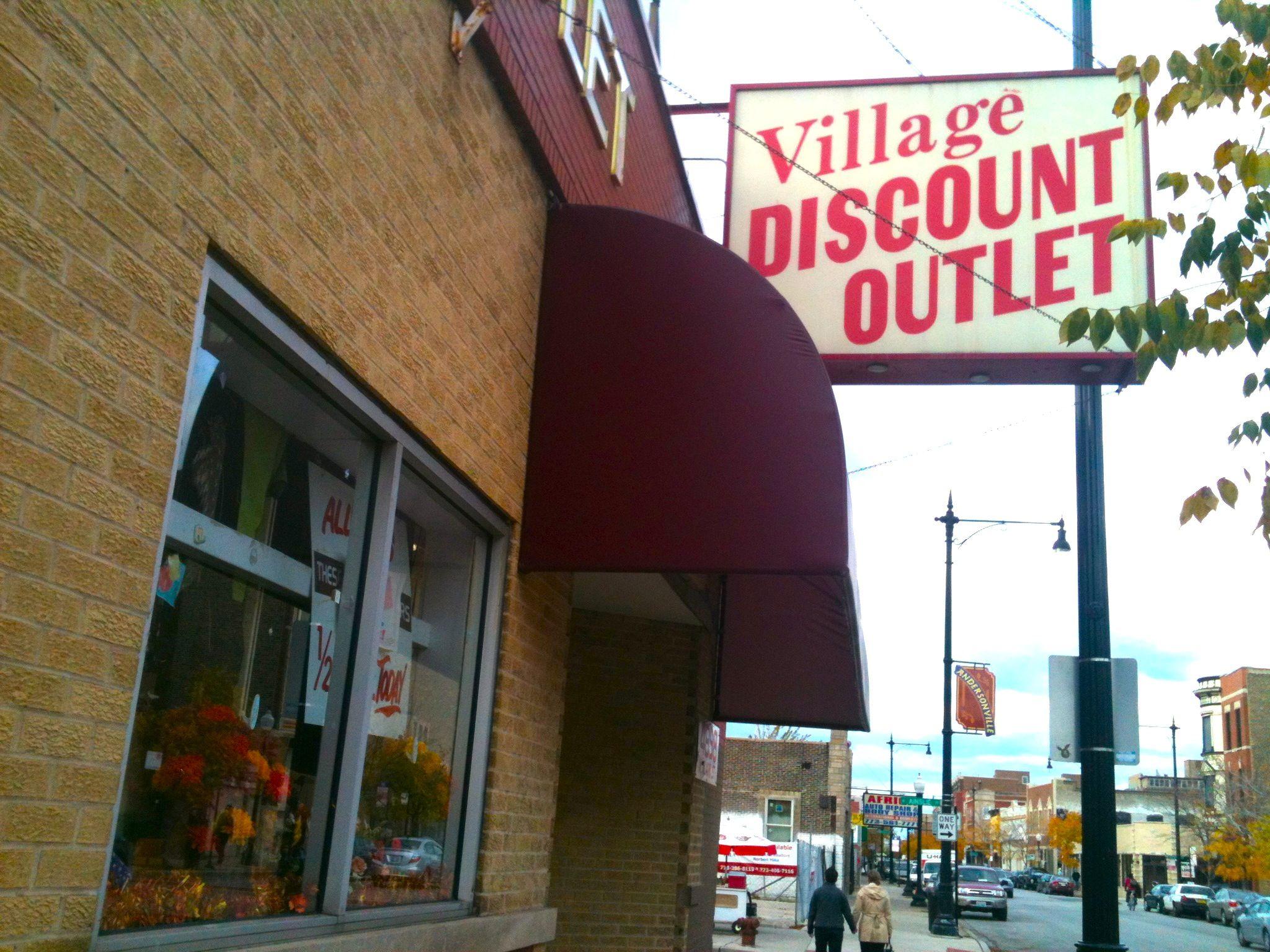 Village Discount Outlet, Chicago Clark Street Chicago Chicago-5166