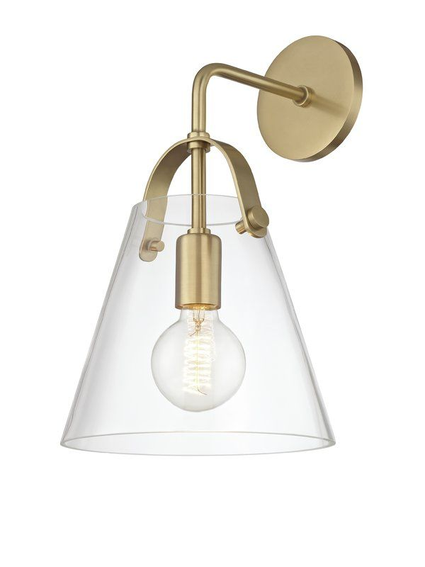 Jerez 1 Light Armed Wall Sconce With Dimmer Switch Sconces Walls And Lights