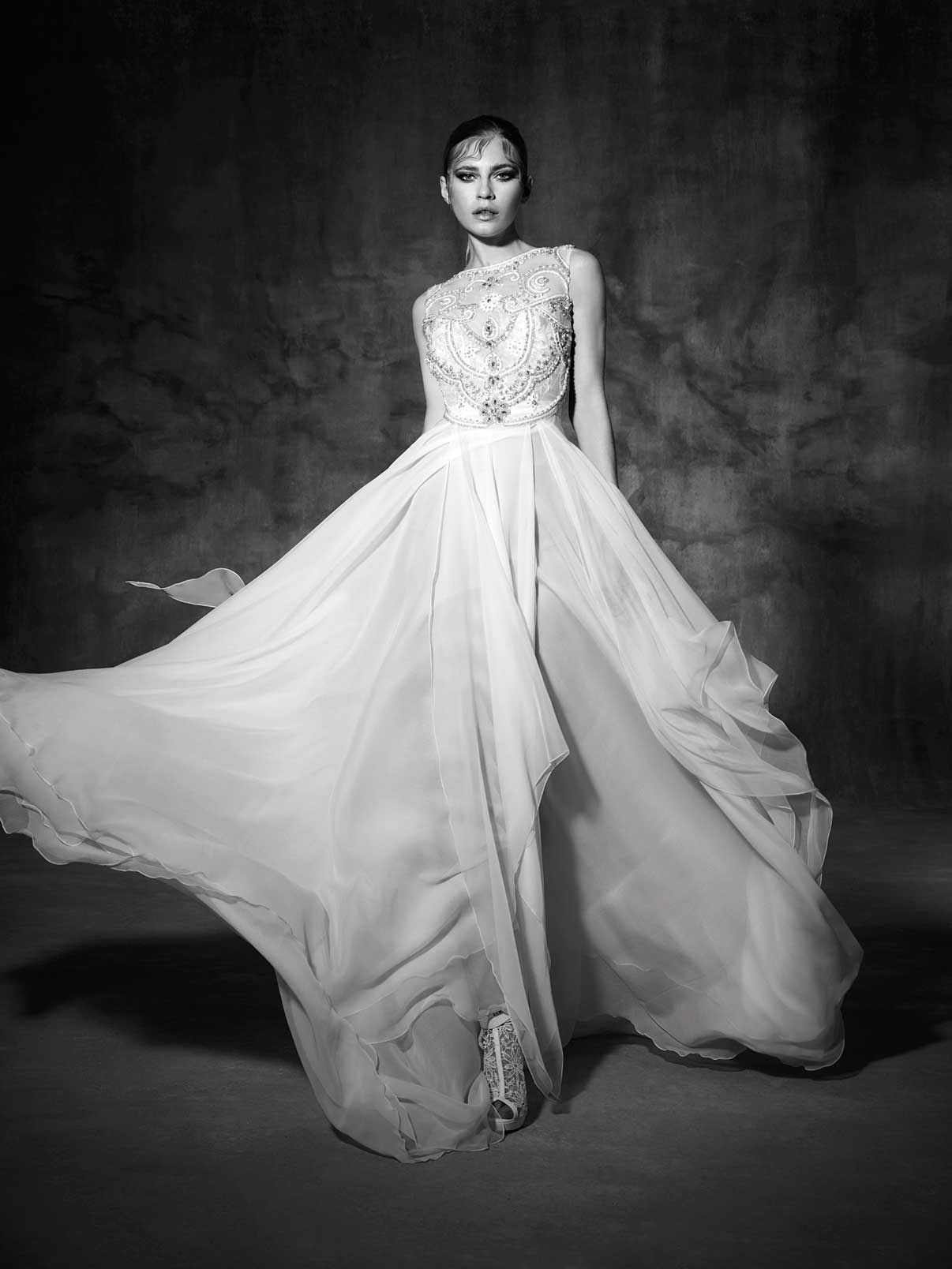 Noguera Yolancris Couture Dress Wedding High End Barcelona