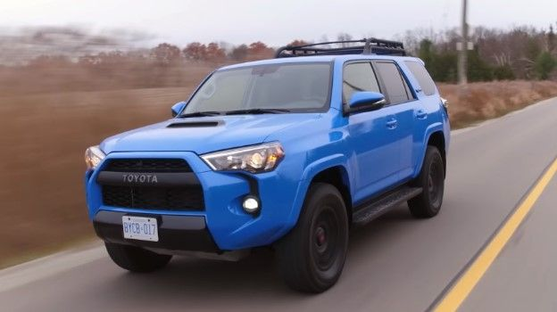 2020 Toyota 4runner Trd Pro Voodoo Blue Review Features