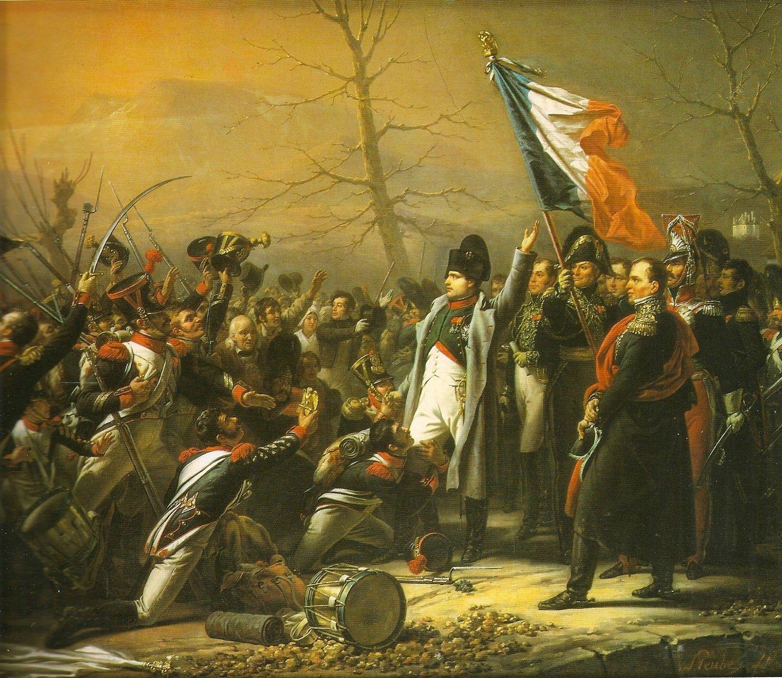 Wilhelm Sternberg: Napoleon 1er au retour de l'ile d'Elbe (1815