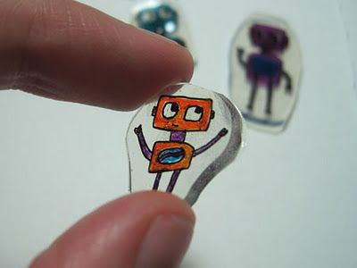 Diy Shrinky Dinks With Recycled Plastic Bricolage Enfant