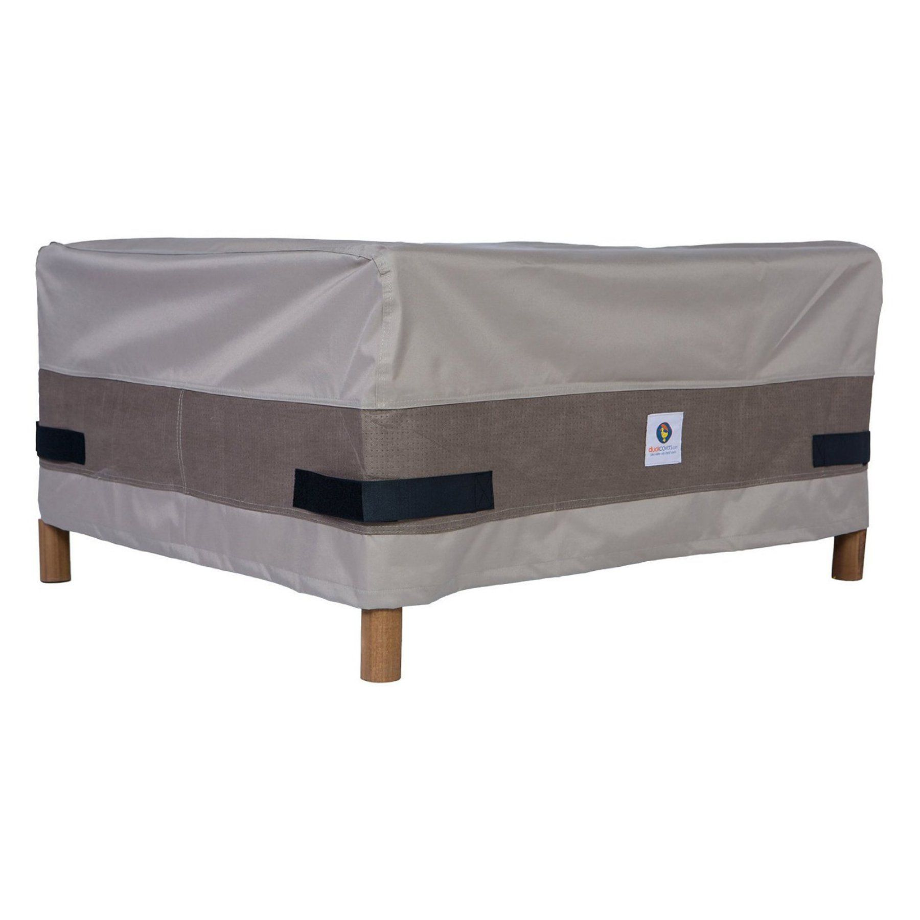 Duck Covers Elegant Patio Ottoman Or Side Table Cover
